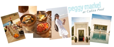 Taste of Morocco with Peggy Markel at Caliza Pool!